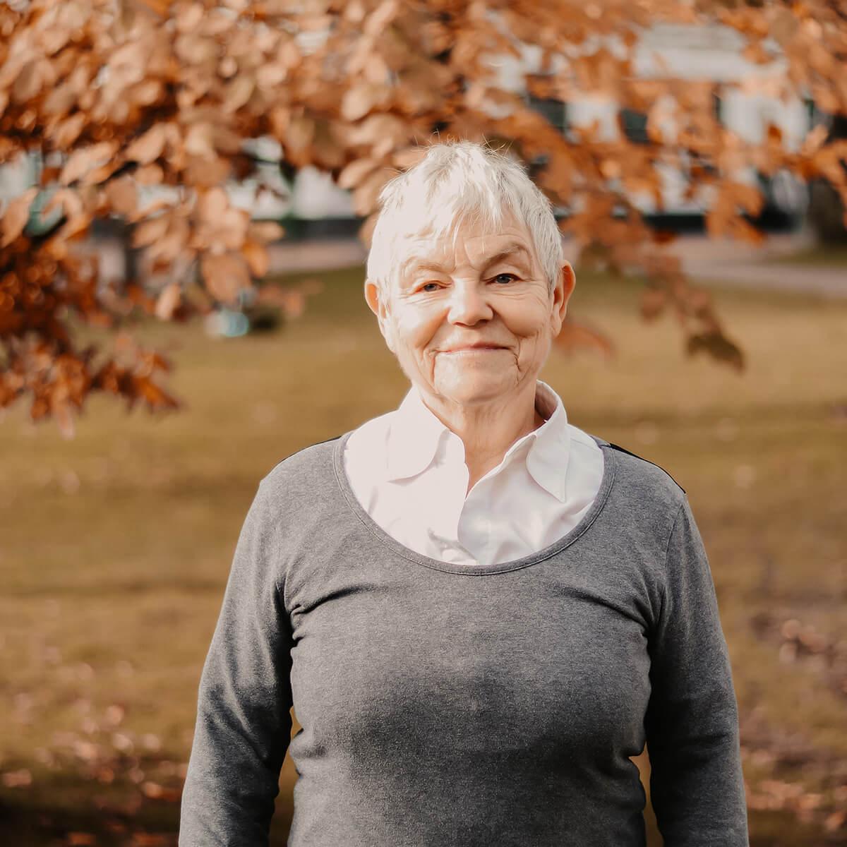 Organistin Roselinde Möller