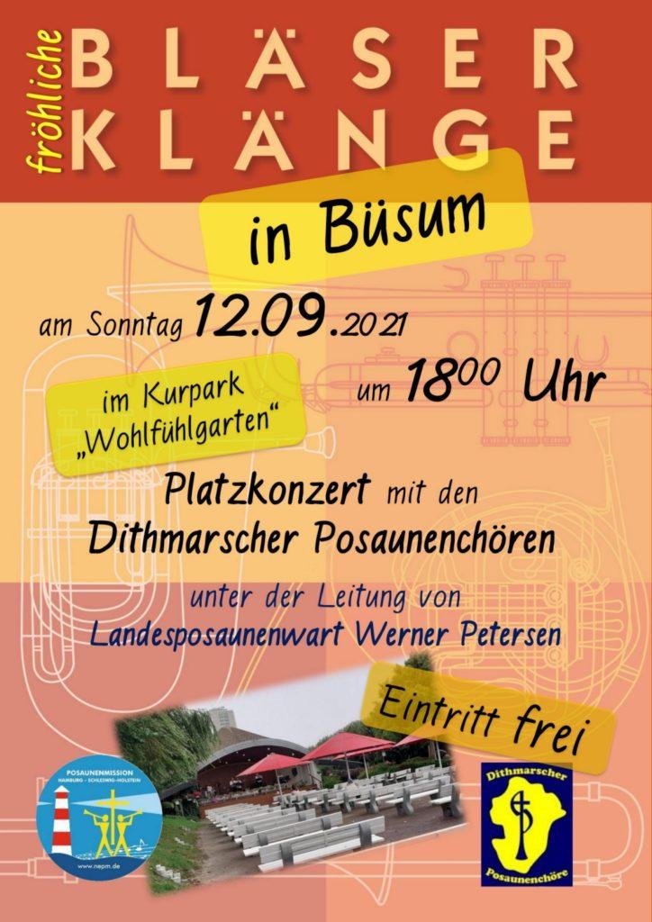 Blaeserklaenge-inBuesum-2021-Plakat